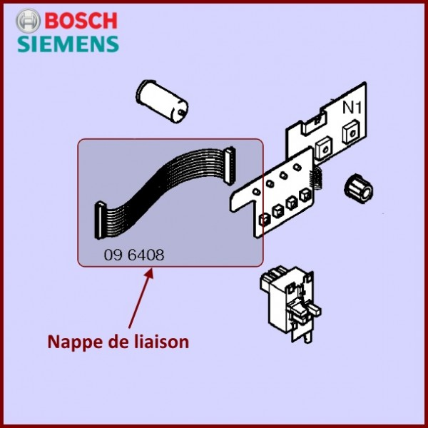 Faisceau De Câble B107768AA Bosch 00096408 CYB-052863