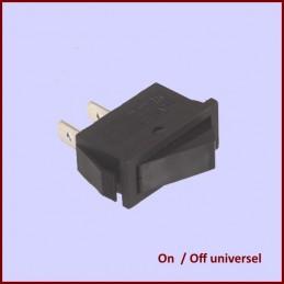 Interrupteur Noir universel...