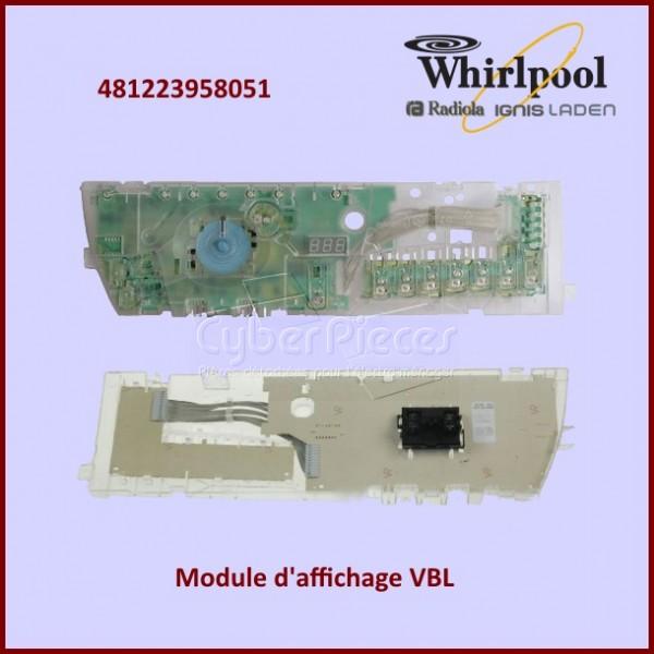 Module De Commande Whirlpool 481223958051