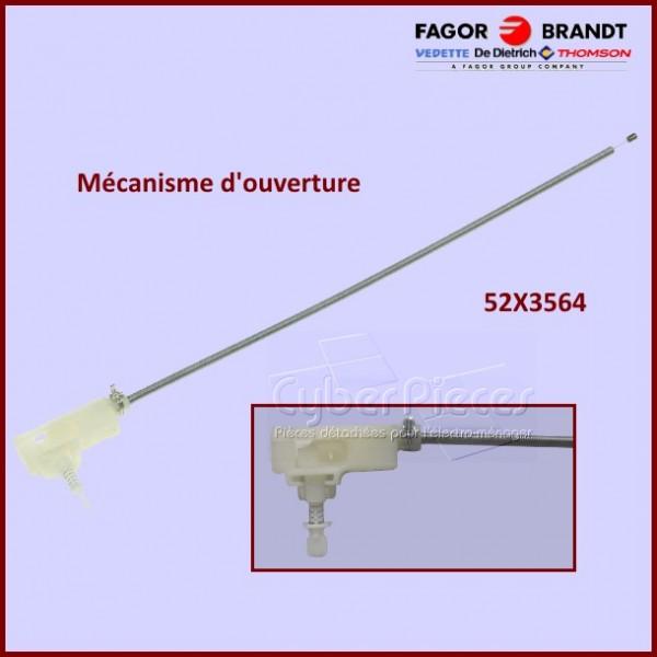 Mécanisme d'ouverture + Câble Brandt 52X3564