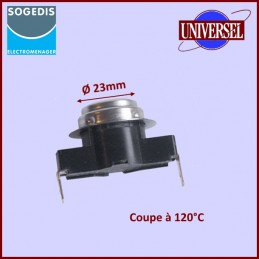 Thermostat 2 Cosses NC 120°...