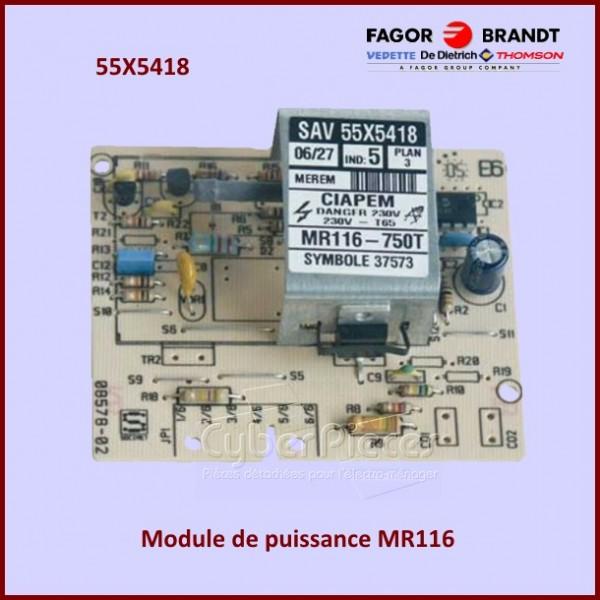 Module de puissance Brandt 55X5418