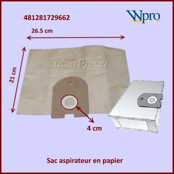 Sac papier d'aspirateur HOOVER GALAXY 481281729662