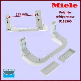 Poignée blanche Miele 9118560 CYB-101417