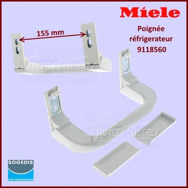 Poignée blanche Miele 9118560