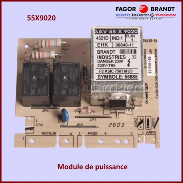 Carte de puissance Brandt  55X9020