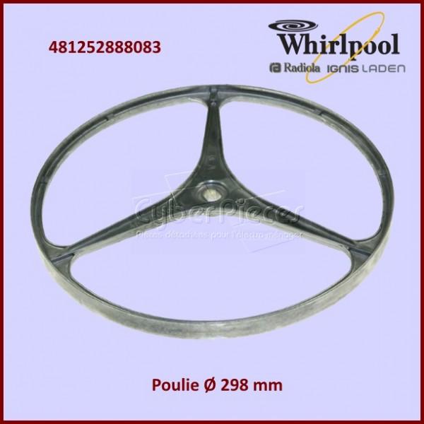 Poulie de tambour Whirlpool 481252888083