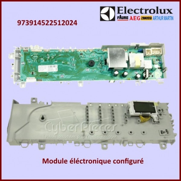 Module configuré Electrolux 973914522512024