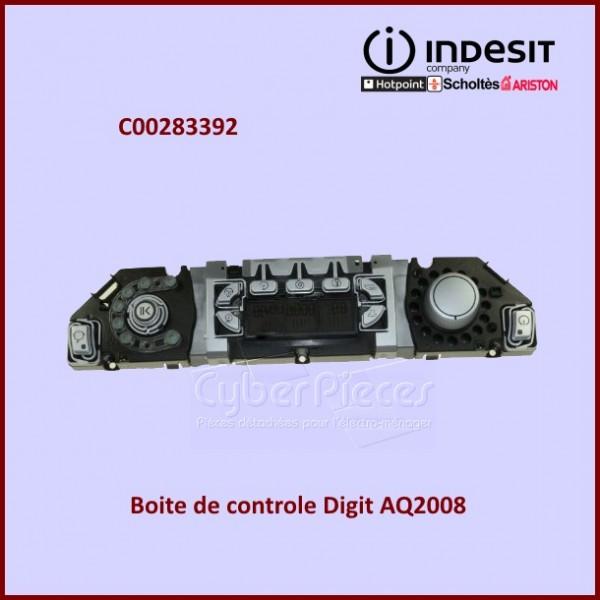 Boite de contrôle DIGIT AQ2008 Indesit C00283392
