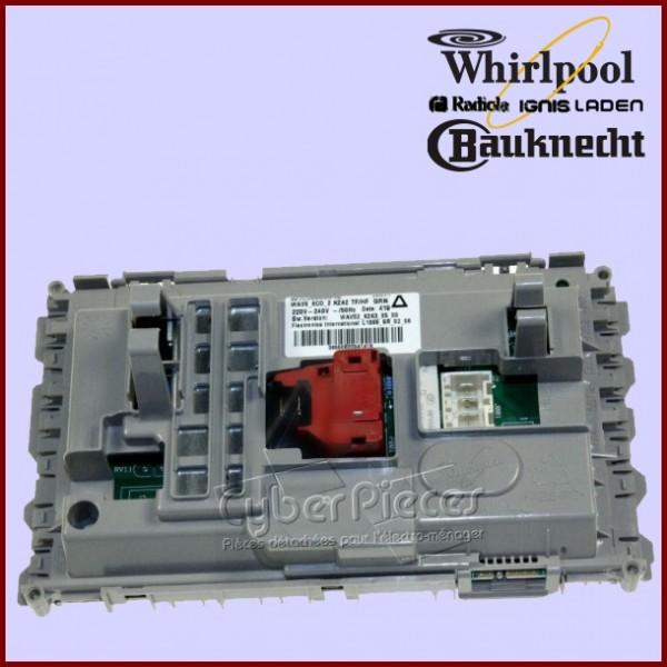 platine de puissance whirlpool 481010560639 pour modules. Black Bedroom Furniture Sets. Home Design Ideas