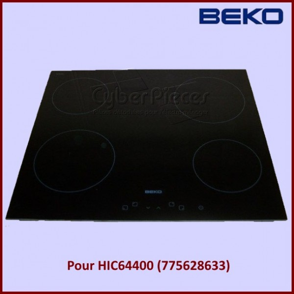 Dessus Verre Vitro-céramique 190261024 BEKO HIC64400