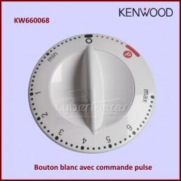 Bouton blanc de réglage avec pulse KW660068 pour Kenwood KM200 CYB-439060