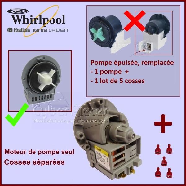Kit de remplacement pour Moteur de pompe seul Odalys 481236018474