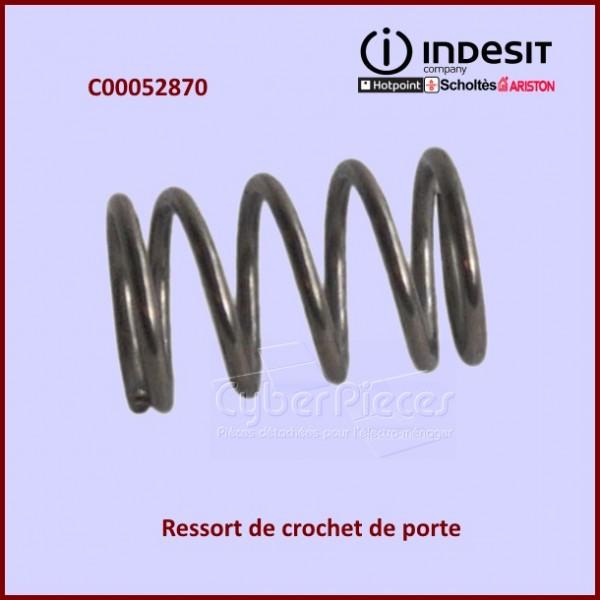 Ressort de crochet de porte Indesit C00052870