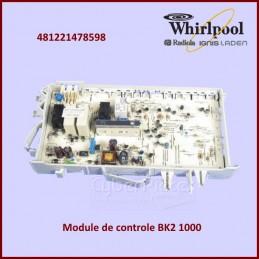 Carte électronique de commande Whirlpool 481221478598 CYB-181174