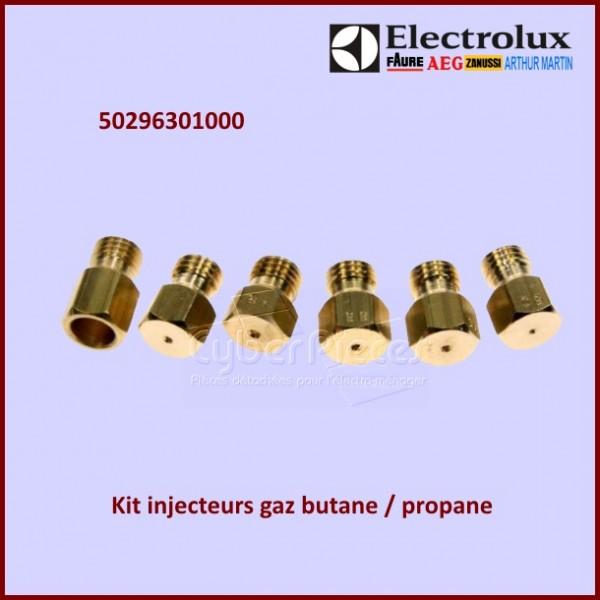 Jeu d'injecteurs de gaz butane / propane Electrolux 50296301000