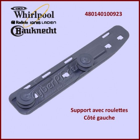 Support avec roulettes Whirlpool 480140100923
