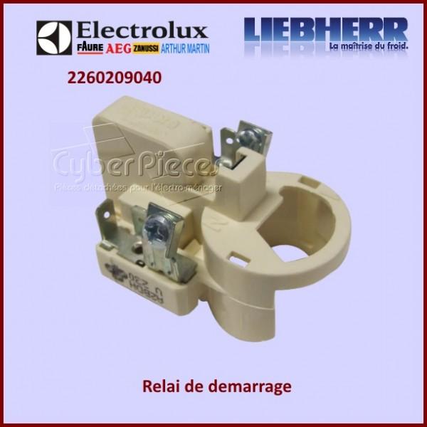 Relais de démarrage Electrolux 2260209040