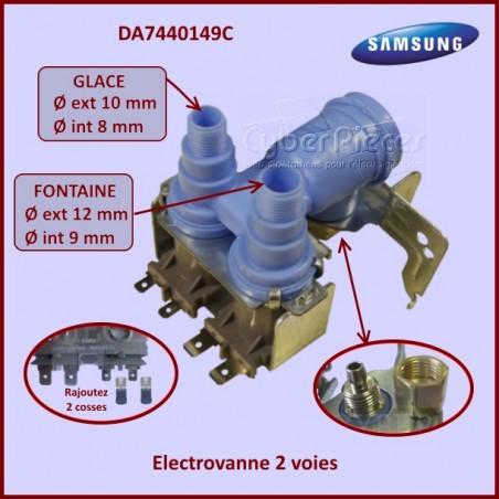 Electrovanne 2 Voies Samsung DA74-40149C