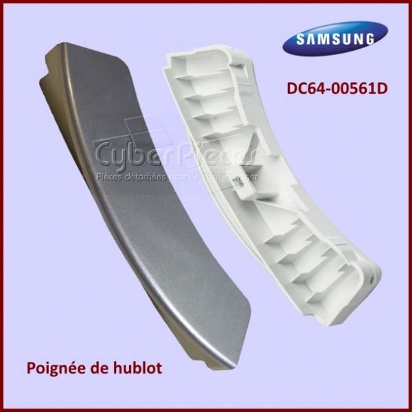 Poignée de hublot grise Samsung DC64-00561D