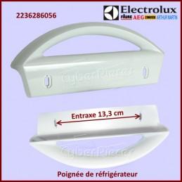 Poignée de porte entraxe 13,3 cm Electrolux 2236286056 CYB-063692