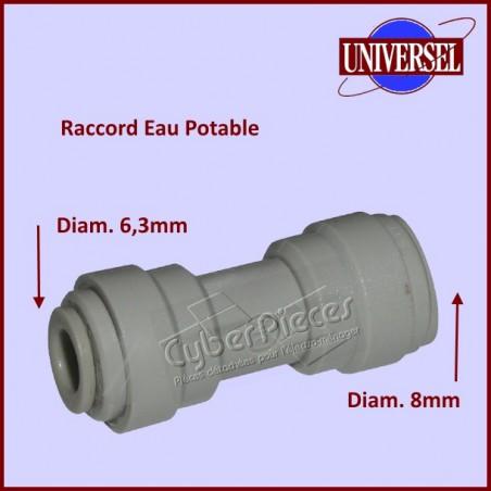 Raccord Droit Réducteur  8MM / 6MM
