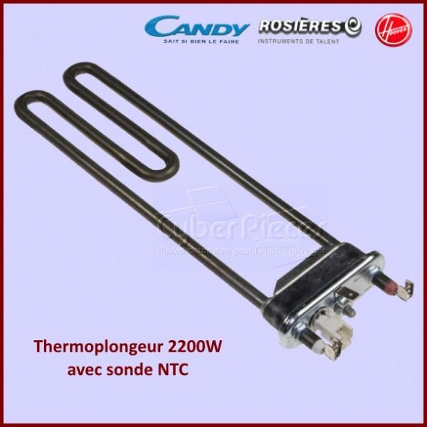 Résistance 2200 W + sonde NTC Candy 41029722