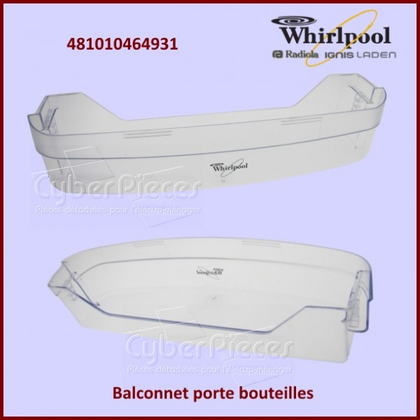 Balconnet Support Bouteille Whirlpool 481010464931