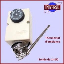 Thermostat D'ambiance +35 à -35° avec sonde 6mm ( pour chambre froide ) CYB-418683
