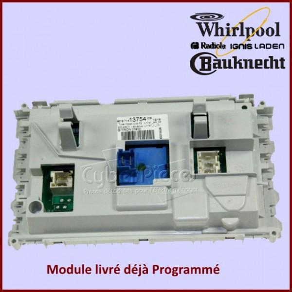 platine de puissance whirlpool 480111104638 pour modules electroniques machine a laver lavage. Black Bedroom Furniture Sets. Home Design Ideas