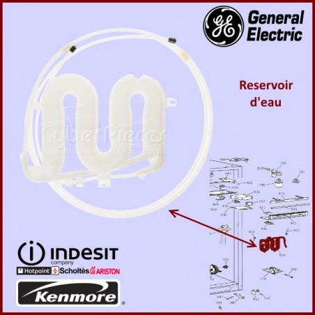 Réservoir eau General Electric WR17X4358