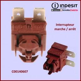 Interrupteur unipolaire Indesit C00140607 CYB-337274