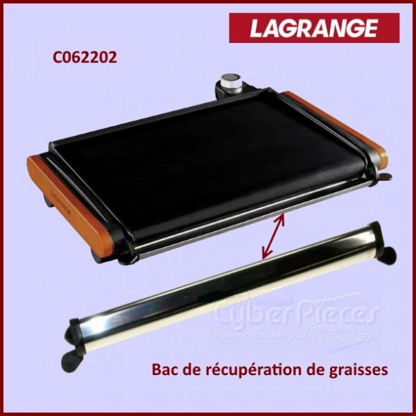 bac graisse plancha lagrange c062202 pour appareils divers petit electromenager pieces. Black Bedroom Furniture Sets. Home Design Ideas