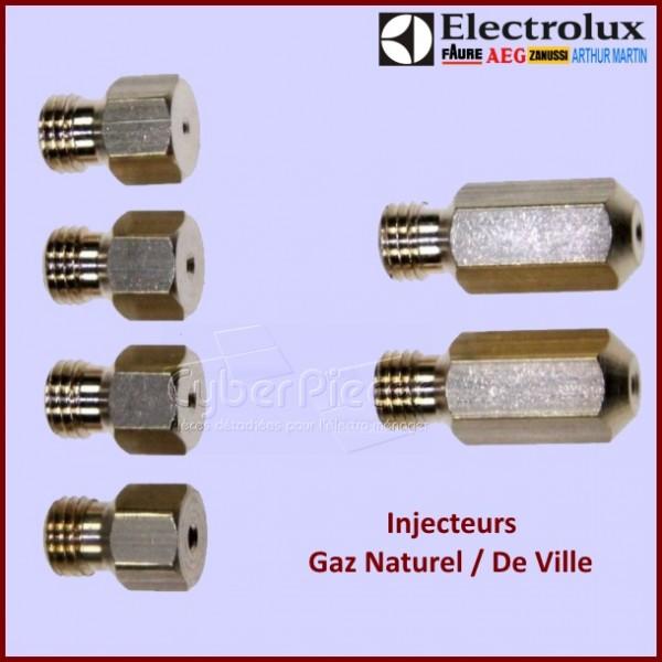 jeu d 39 injecteurs gaz naturel 50287072008 electrolux pour injecteurs buses fours ou cuisinieres. Black Bedroom Furniture Sets. Home Design Ideas