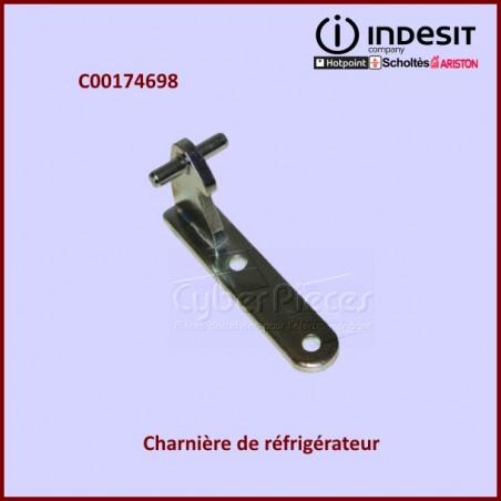 Charnière centrale silver Indesit C00174698