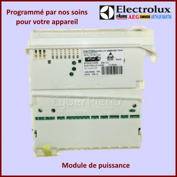 Module électronique configuré EDW503 Electrolux 973911989306023