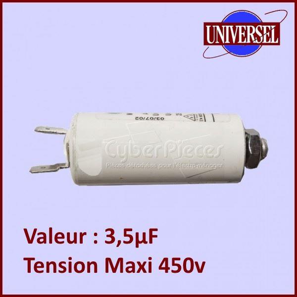 Condensateur 3,5µF 450V  ( 3,5MF)