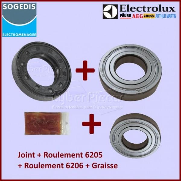 kit palier electrolux sogedis pour paliers kits roulements machine a laver lavage pieces. Black Bedroom Furniture Sets. Home Design Ideas