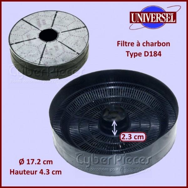 Filtre à charbon Type D184