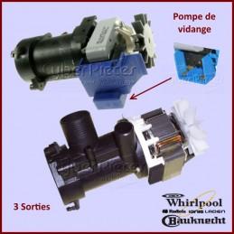 Pompe de vidange Whirlpool 481936018189 CYB-000338