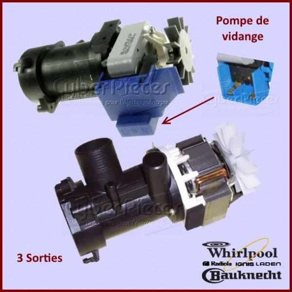 Pompe de vidange Whirlpool 481936018189