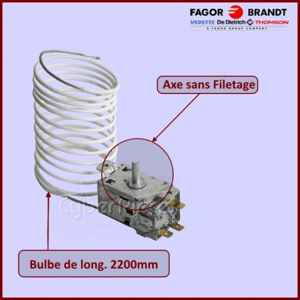 Thermostat A110069 45X6760***EPUISE***