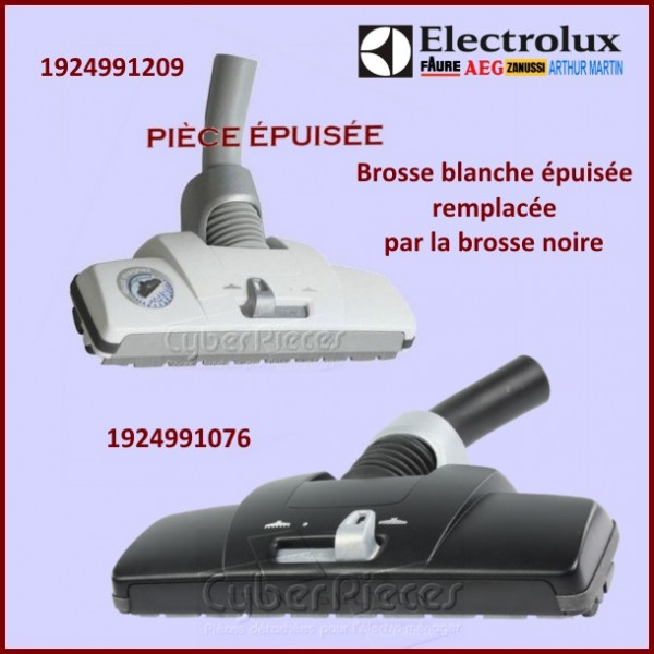 brosse combin e noir dust magnet esno electrolux 1924991076 pour aspirateur petit electromenager. Black Bedroom Furniture Sets. Home Design Ideas