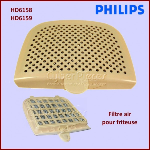 Filtre air friteuse CRP413/01 PHILIPS 422245945225***EPUISE***