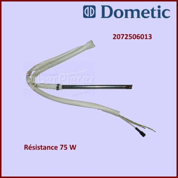 Résistance droite 75W 220V Dometic 2072506013