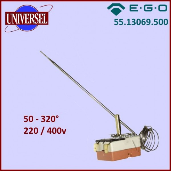 Thermostat EGO 55.13069.500 (50 à 320°)