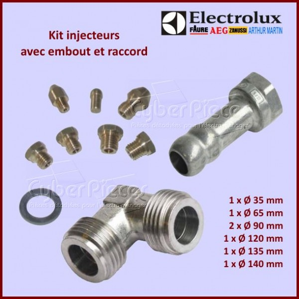 Injecteur gaz naturel Electrolux 6072926998