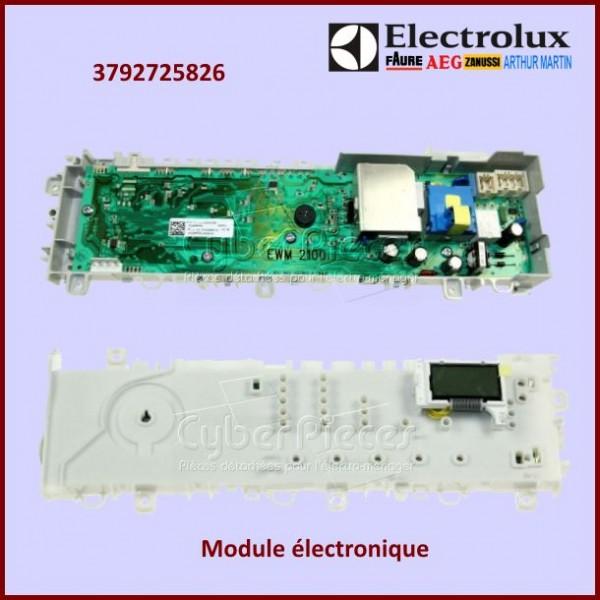 Module Electronique Electrolux 3792725826 à configurer par nos soins
