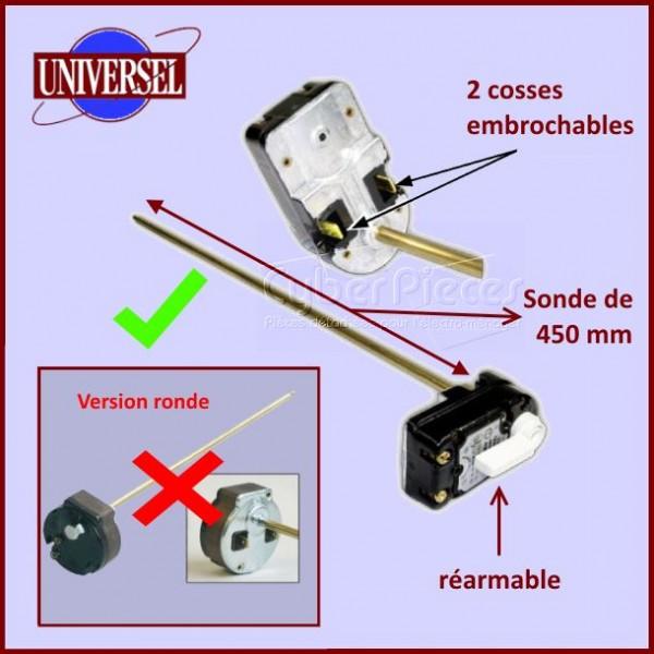 Thermostat Chauffe-eau  450mm
