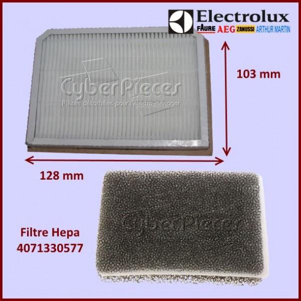 Filtre Hepa aspirateur Electrolux 4071330577
